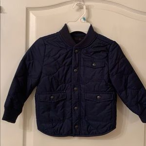 Baby Gap Blue Quilted Jacket